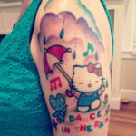Tatuagem da Hello Kitty