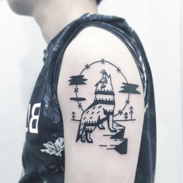 Tattoo bedeutung mit wolfskopf frau 110 einzigartige