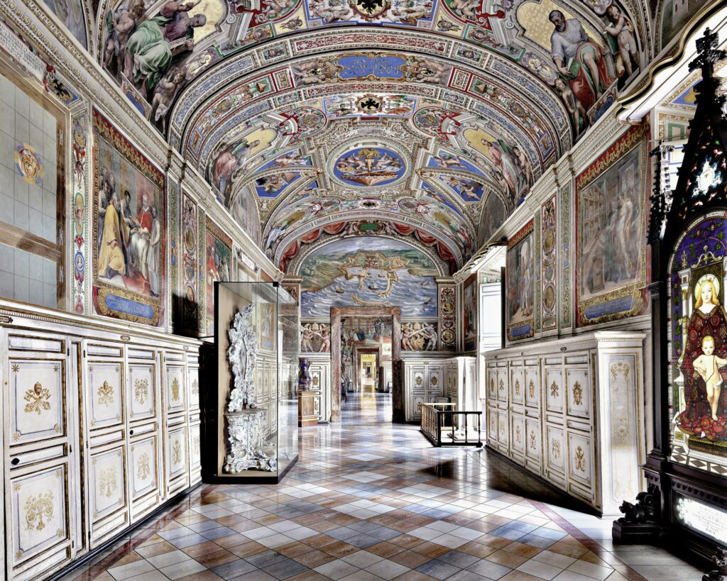 Bibliothèque apostolique du Vatican, Rome, Italie