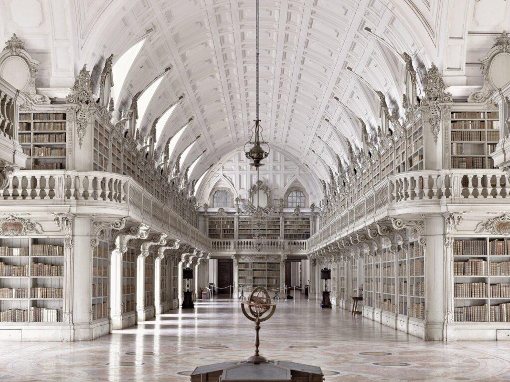 Biblioteka klasztoru Mafra, Mafra, Portugalia