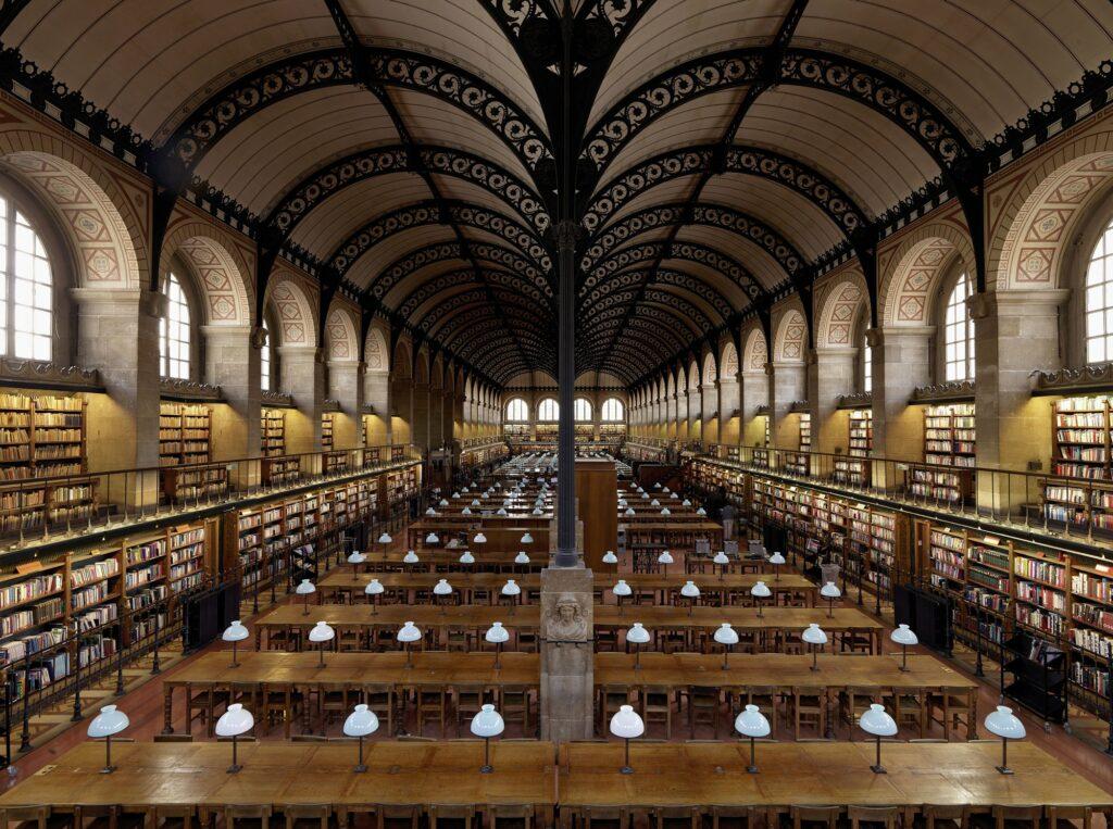 Bibliothèque Sainte-Geneviève, Paris, França