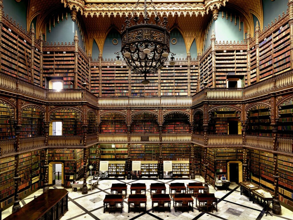 Bureau de lecture royal portugais, Rio de Janeiro, Brésil
