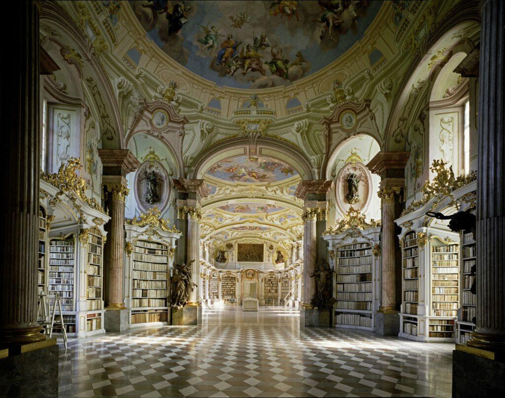 Stiftsbibliothek Admont, Admont, Autriche