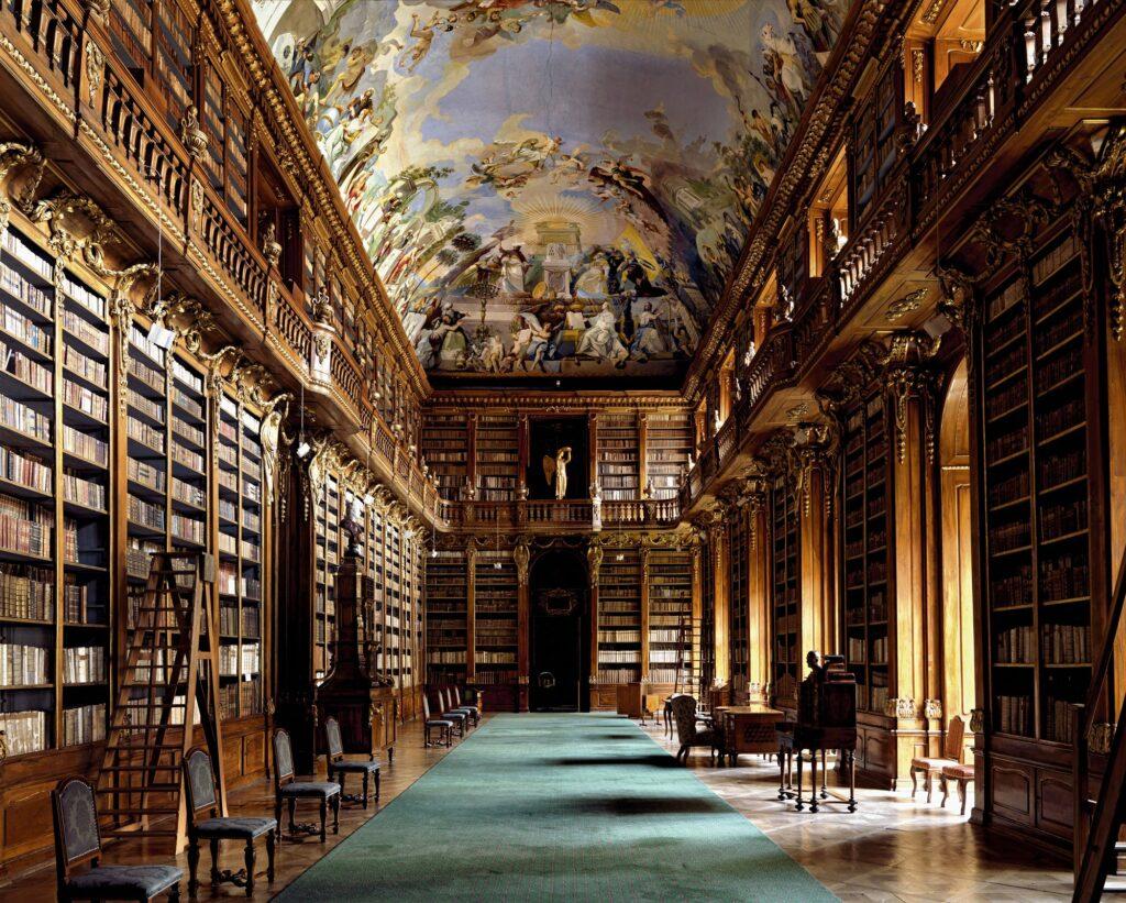 Strahovská Knihovna, Prague, République tchèque - La plus belle bibliothèque du monde