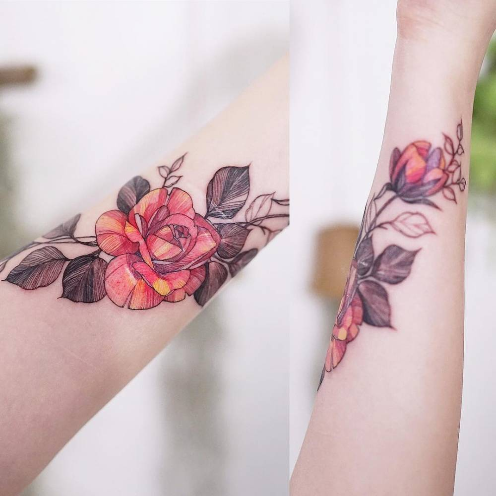 Rosen bedeutung rote 5