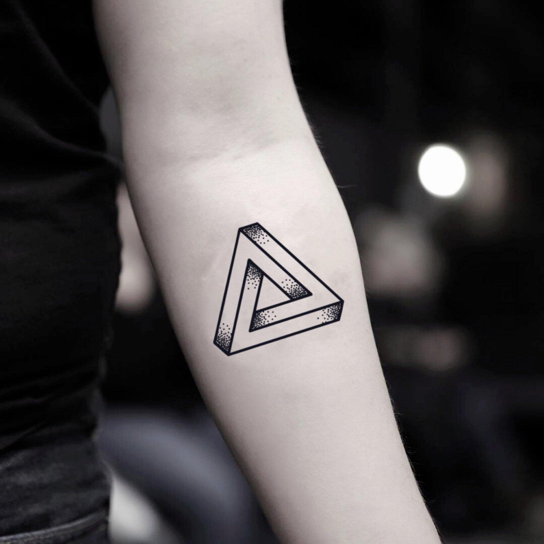 Dreiecke bedeutung geometrische tattoo 65 atemberaubende